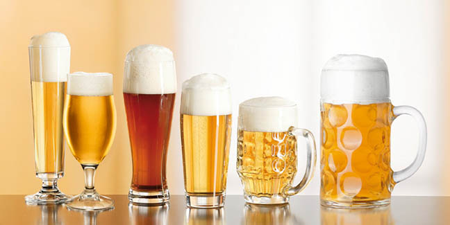 beer glassware types