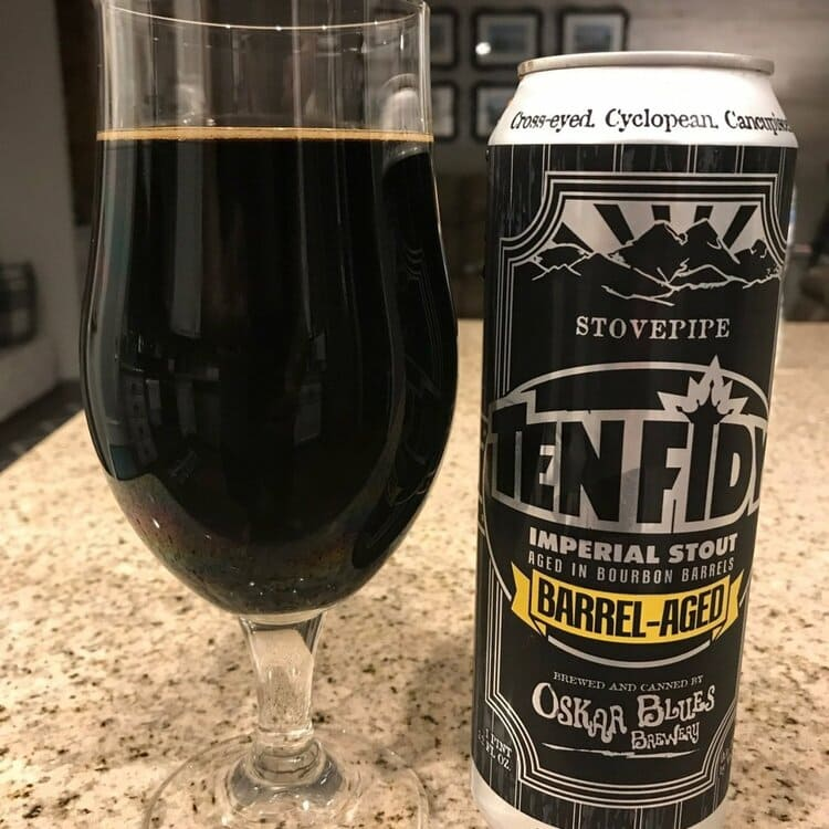 bourbon barrel aged ten fidy