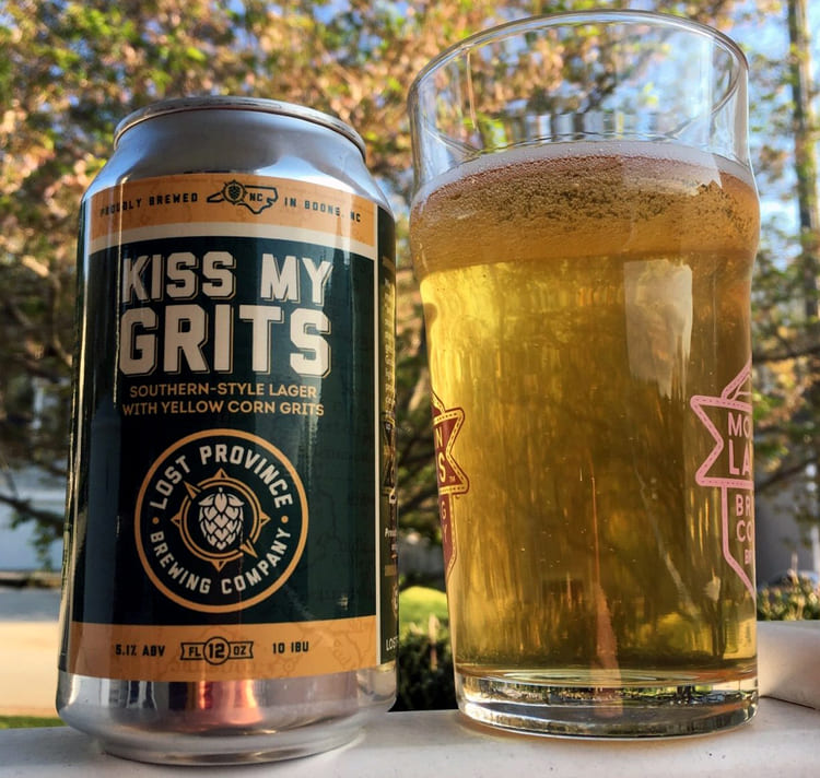kiss my grits pale lager
