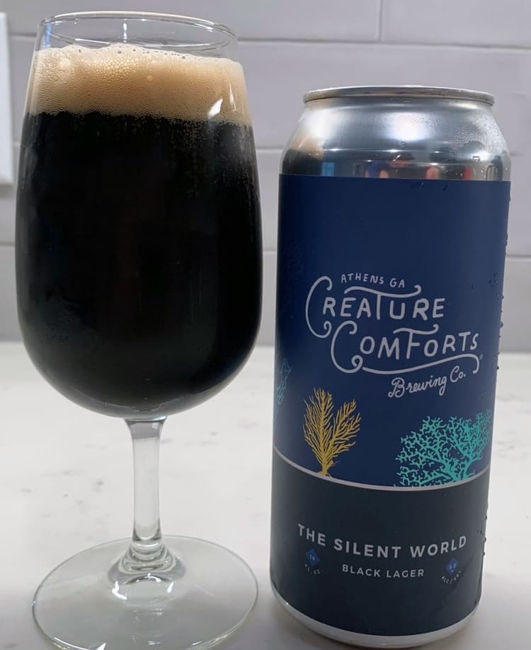 the silent world black lager