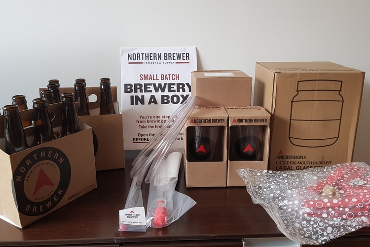homebrewing kit example
