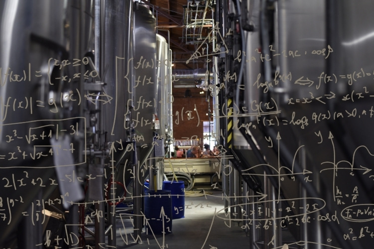 brewery space calculations