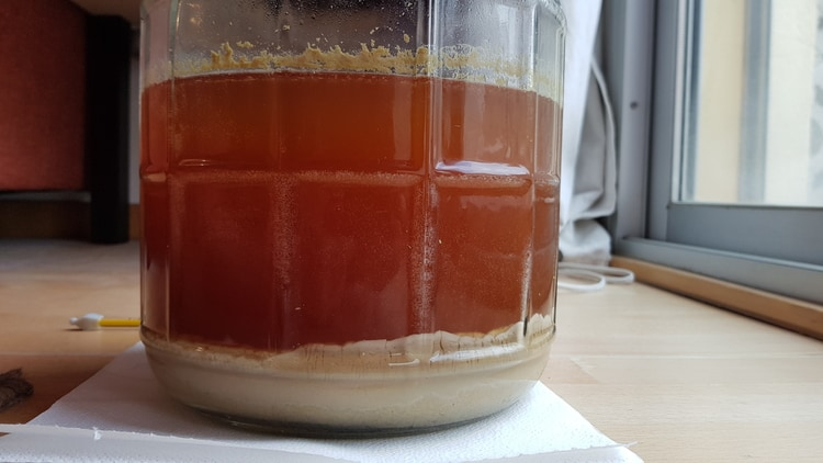 fermentation is over