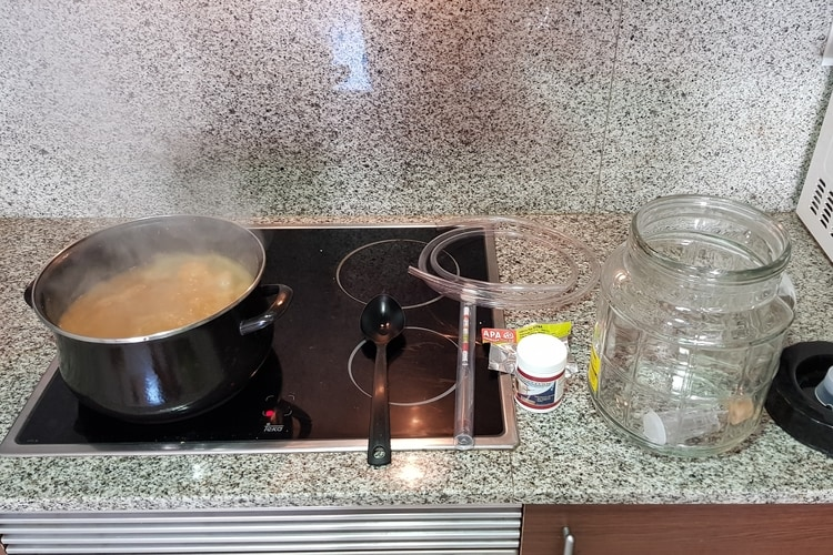 homebrew electric stove
