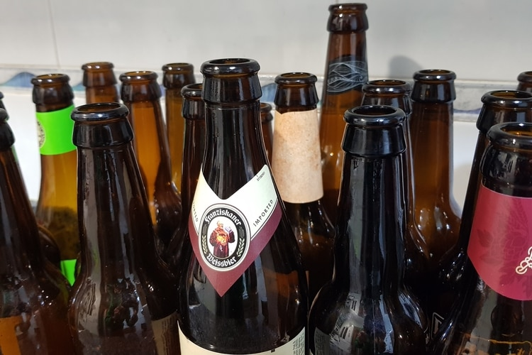 recycle homebrew bottles