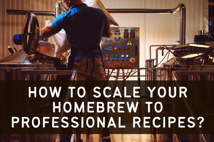 scaling homebrew to pro recipes